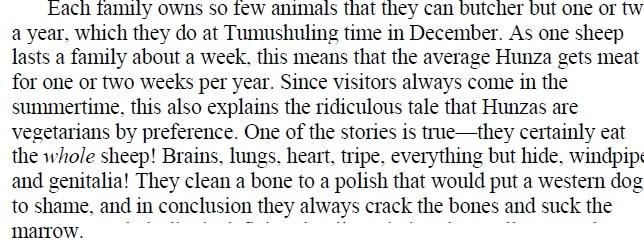 """""""Κάθε οικογένεια έχει τόσο λίγα ζώα που θα σφάξουν ένα ή δύο το Δεκέμβρη. Ένα πρόβατο θα θρέψ"""
